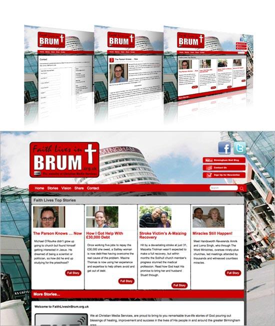 Faith Lives in Brum website