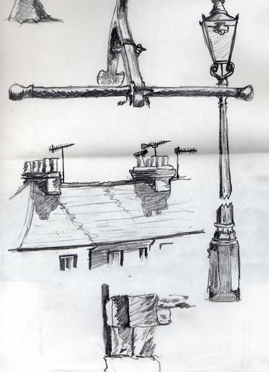 Selection of sketched observations