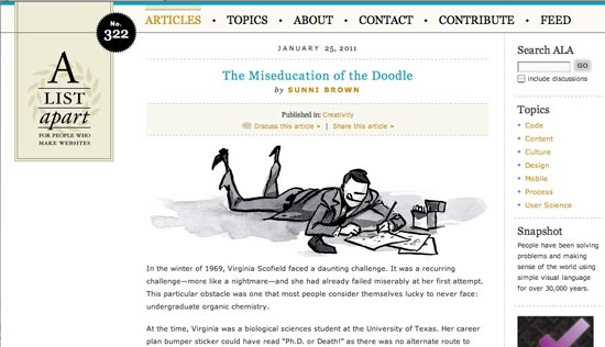 The Miseducation of the Doodle (article link)