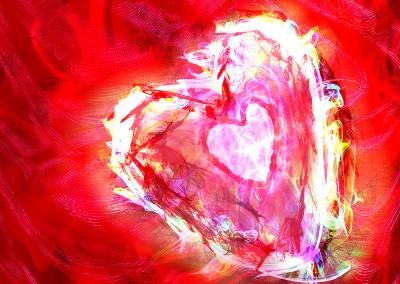 A Passionate Heart 3 (Digital fine art)