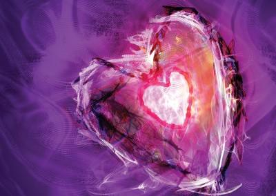 A Passionate Heart 2 (Digital fine art)