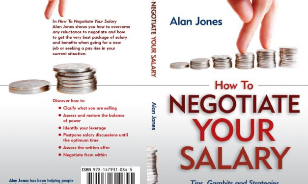 How to Negotiate Your Salary – Book Cover Design