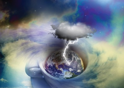 A Storm in a Teacup. Copyright Creative Bytes.