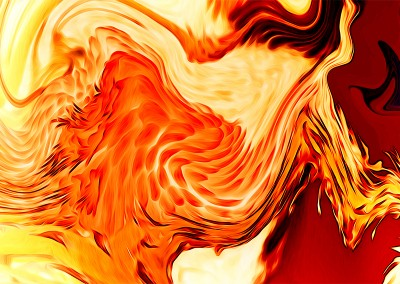 Abstract Fire. Copyright Creative Bytes.