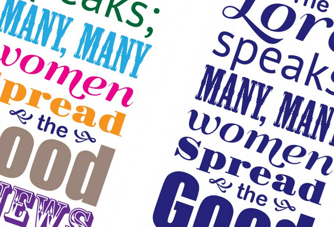 Bible Verse Typography