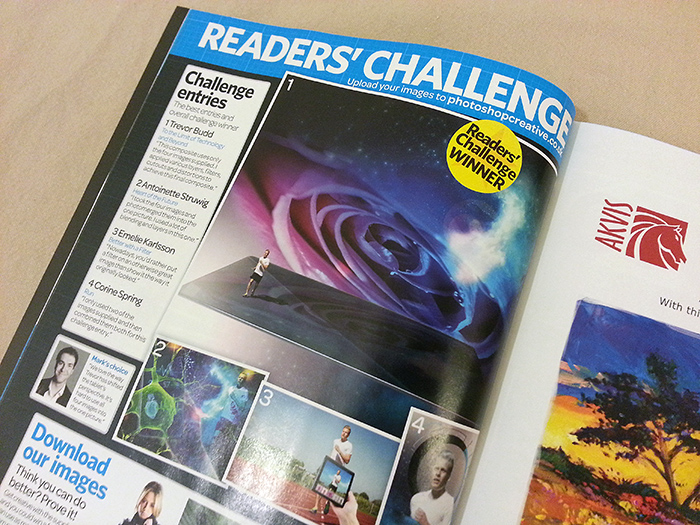 Throwback: A Photoshop Creative magazine competition winner!