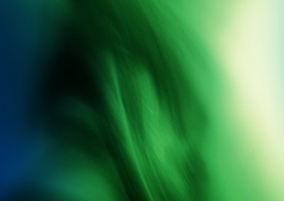 Abstract Green Smoke