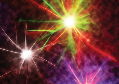 Fireworks. An abstract image created using multiple Amberlight images and Photoshop. Copyright Creative Bytes.